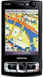 Nokia N95 Actual Size Image
