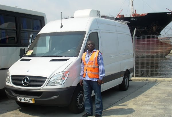 o.b van picture at the seaport lagos nigeria Actual Size Image