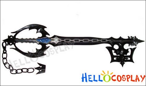 Oblivion Keyblade Actual Size Image