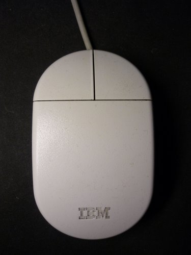 Old IBM mouse model 13H6690 Actual Size Image