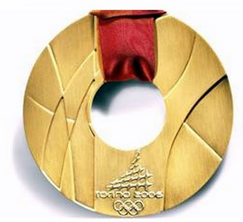 Olympic Medal Actual Size Image