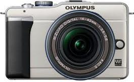 Olympus E-PL1 Actual Size Image