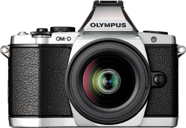 Olympus OM-D E-M5 Actual Size Image