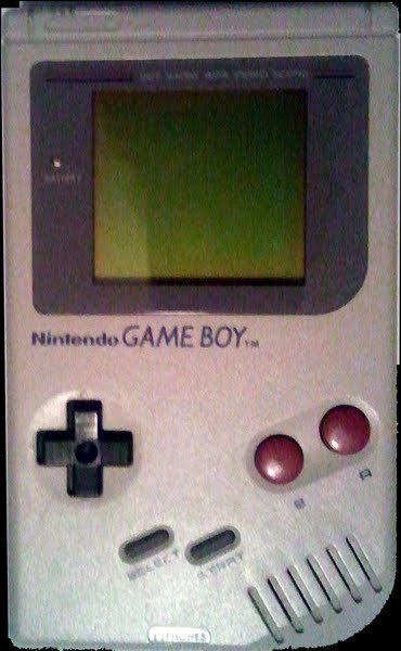 Original Game Boy Actual Size Image