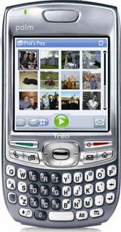 Palm Treo 680 Actual Size Image