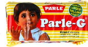 Parle-G bicuit pack Actual Size Image