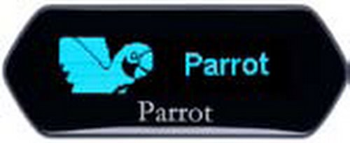 PARROT MKi9100 mm Actual Size Image
