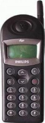Philips Diga Actual Size Image