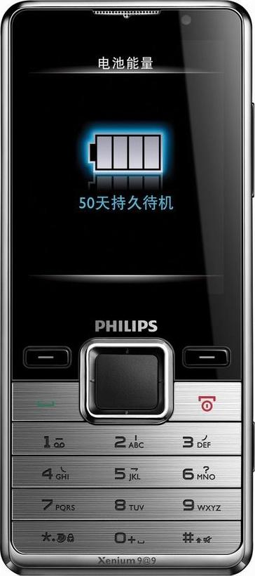 Philips X630 Actual Size Image
