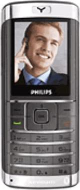 Philips Xenium 9@9a Actual Size Image