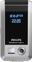 Philips Xenium 9@9e Actual Size Image