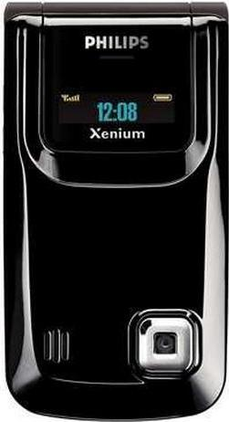 Philips Xenium 9@9r Actual Size Image
