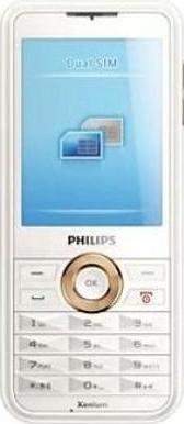 Philips Xenium F511 Actual Size Image