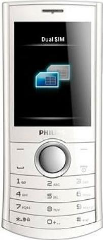 Philips Xenium X503 Actual Size Image