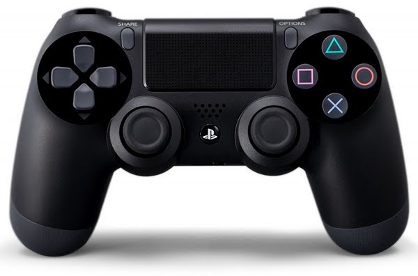 Playstation 4 Controller Actual Size Image
