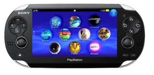 PlayStation Vita Actual Size Image