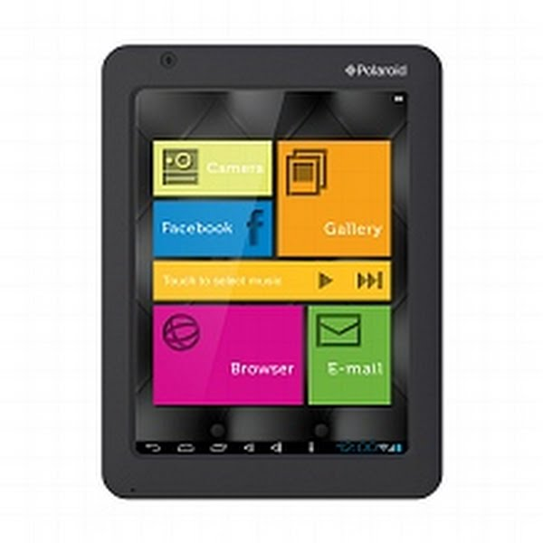 Polaroid 8 inch Android 4.0 Internet Tablet Actual Size Image