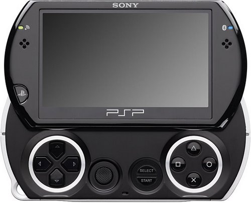 PSP Go Actual Size Image