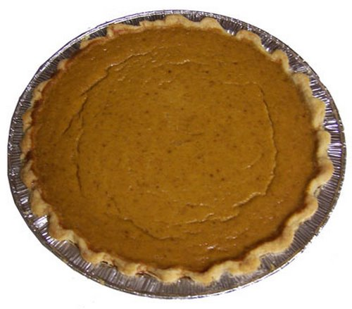 pumpkin pie Actual Size Image