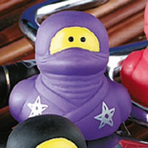 purple ninja duck Actual Size Image
