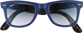 Ray Ban Wayfarer 50mm Actual Size Image