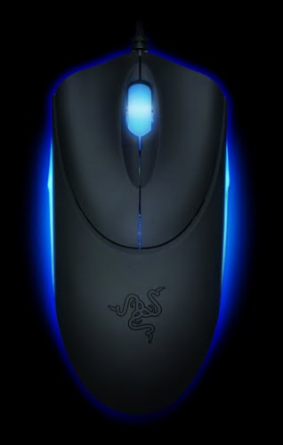 Razer Diamondback 3G Actual Size Image