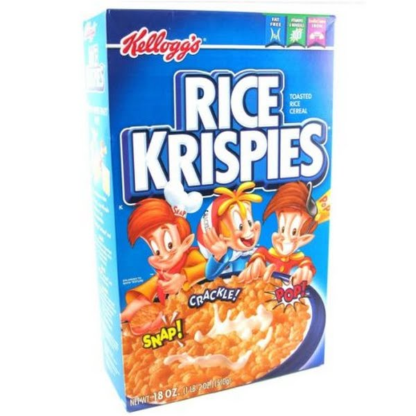 Rice Krispies Actual Size Image