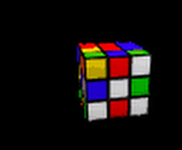 rubics  cube Actual Size Image