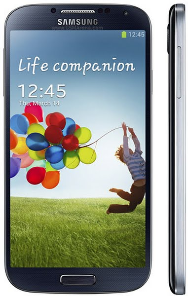 Samsung Galaxy S4 Actual Size Image