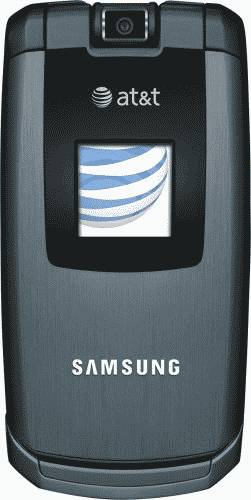 Samsung A747 SLM Blue Phone (AT&T) Actual Size Image