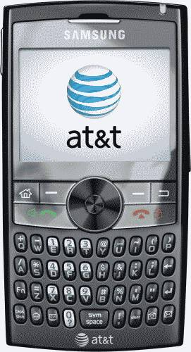 Samsung A747 SLM Brown Phone (AT&T) Actual Size Image
