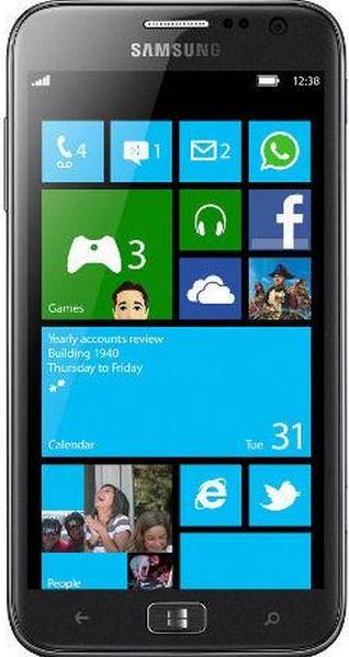 Samsung Ativ S I8750 Actual Size Image