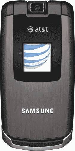 Samsung BlackJack II Blue Smartphone (AT&T) Actual Size Image
