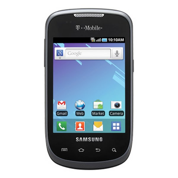 Samsung Dart SGH-T499 Actual Size Image