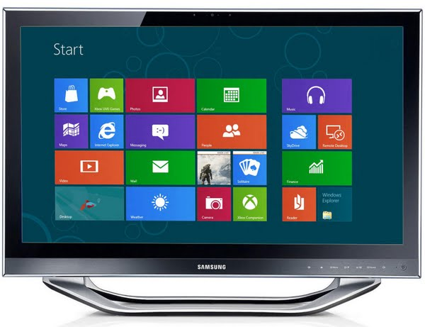 Samsung DP700 All-in-One PC Actual Size Image