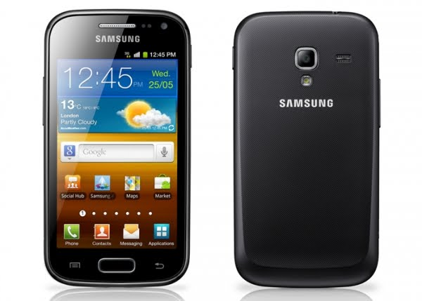 samsung galaxy ace 2 Actual Size Image