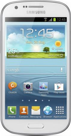 Samsung Galaxy Express I437 Actual Size Image