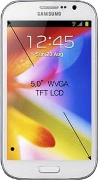 Samsung Galaxy Grand I9082 Actual Size Image