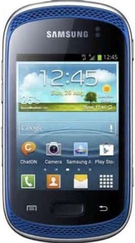 Samsung Galaxy Music S6010 Actual Size Image