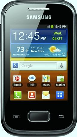 Samsung Galaxy Pocket Actual Size Image