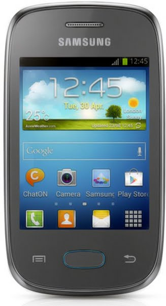 Samsung Galaxy Pocket neo Actual Size Image