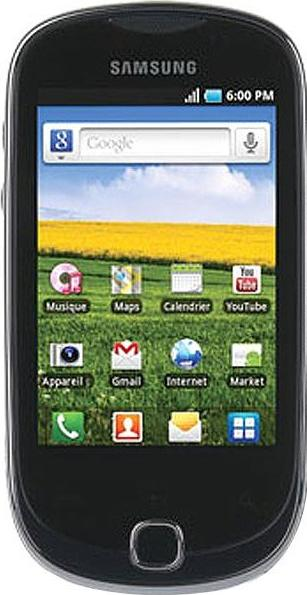 Samsung Galaxy Q T589R Actual Size Image