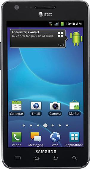 Samsung Galaxy S II SGH-i777 Actual Size Image