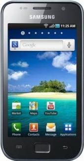 Samsung Galaxy S SCL Actual Size Image