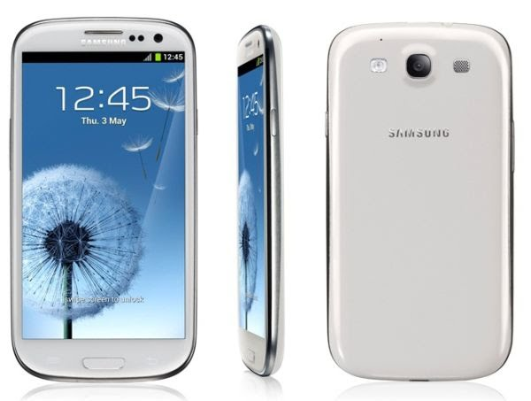 Samsung Galaxy S3 (3) Actual Size Image