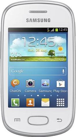 Samsung Galaxy Star S5280 Actual Size Image