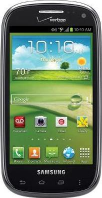 Samsung Galaxy Stratosphere II 1415 Actual Size Image