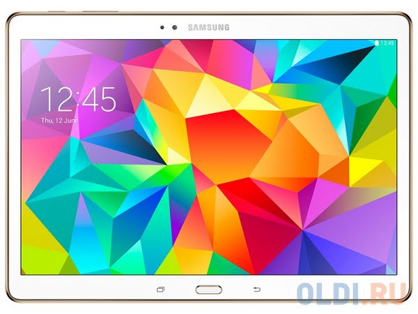 Samsung Galaxy Tab S Actual Size Image