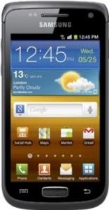 Samsung Galaxy Wonder I8150 Actual Size Image