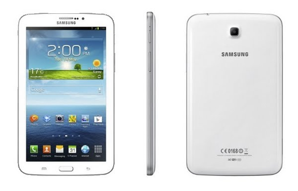 Samsung Glaxy Tab 3 7.0 Actual Size Image
